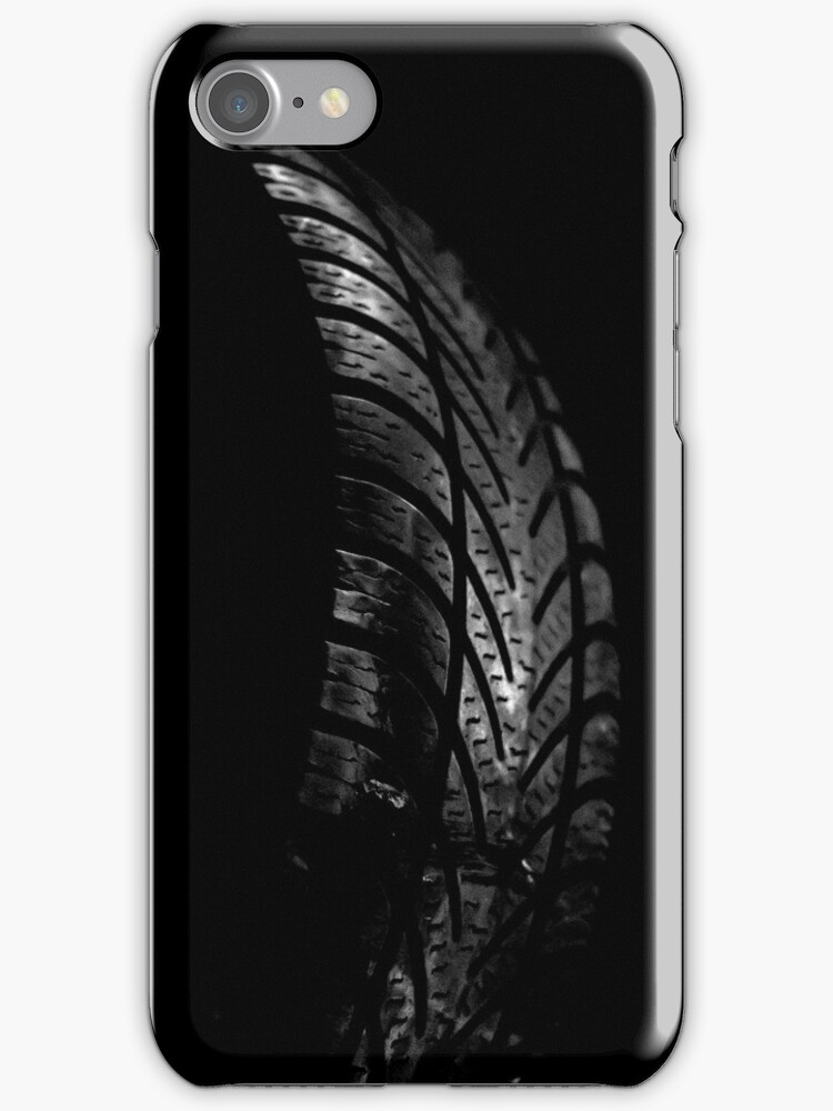Tyre Iphone case by Magdalena Warmuz-Dent