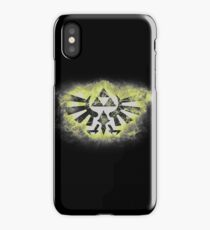 Energetic triforce iPhone Case