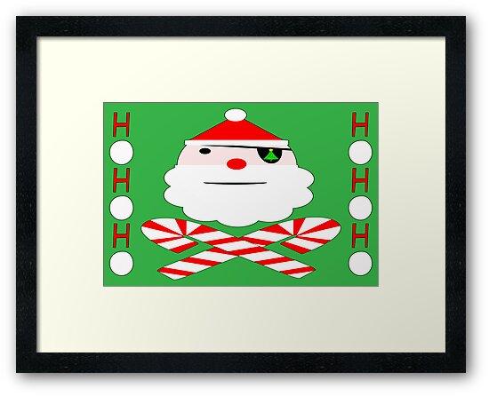 santa jolly roger by dedmanshootn
