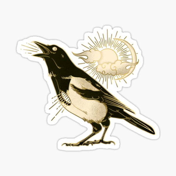 Magpie - Five for Heaven Sticker