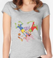 Zombie Soccer Women's Fitted Scoop T-Shirt