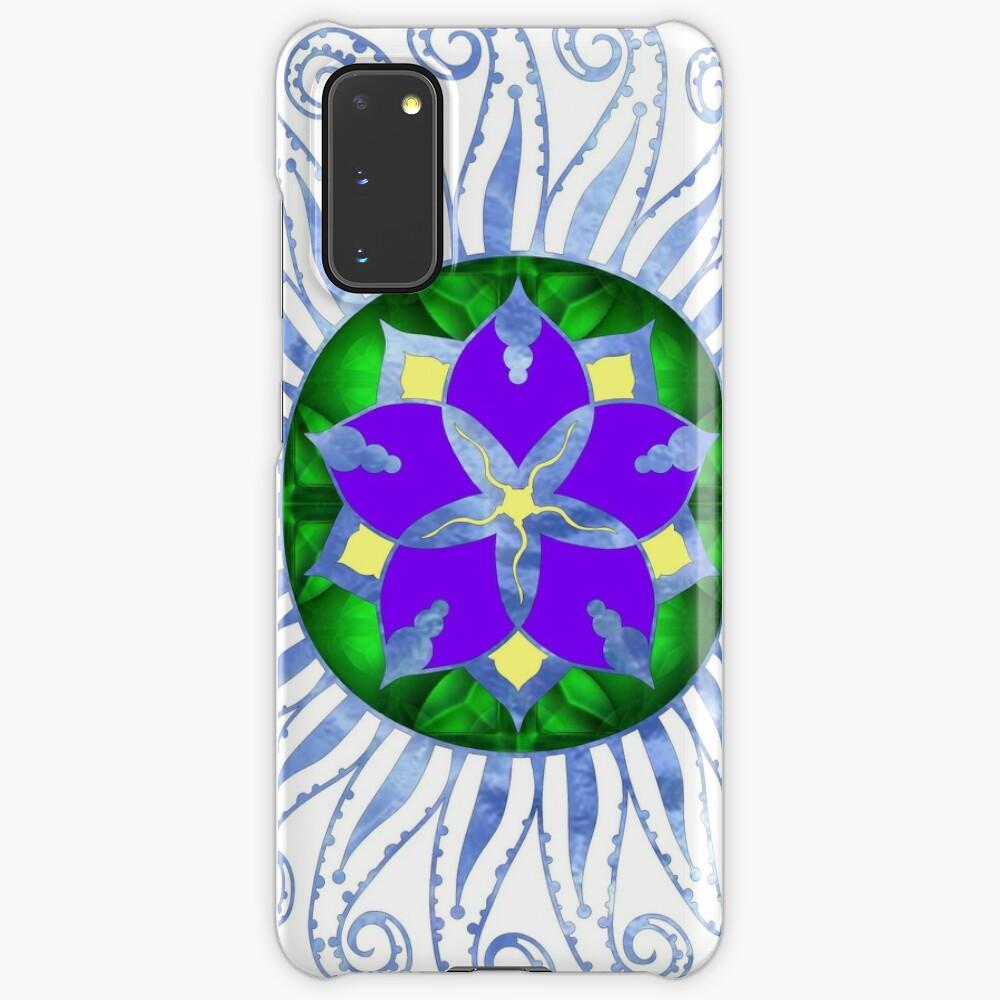 Mandala Case & Skin for Samsung Galaxy