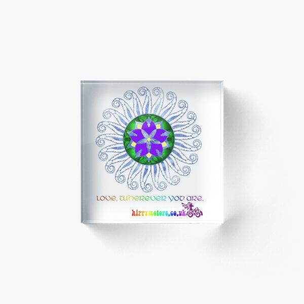 Mandala Acrylic Block