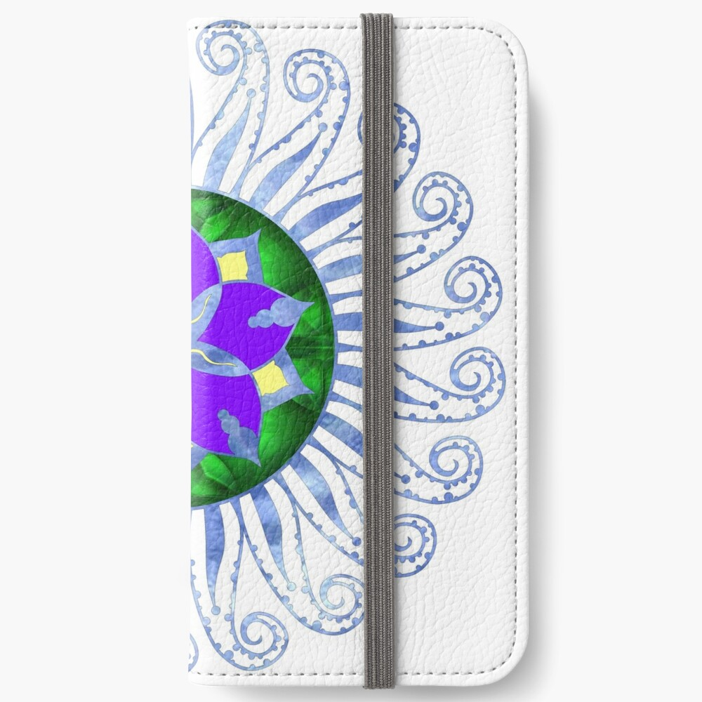 Mandala iPhone Wallet