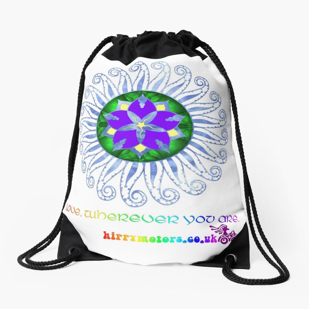 Mandala Drawstring Bag