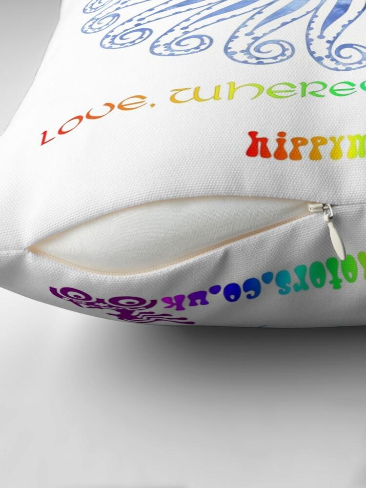 Alternate view of Mandala Throw Pillow