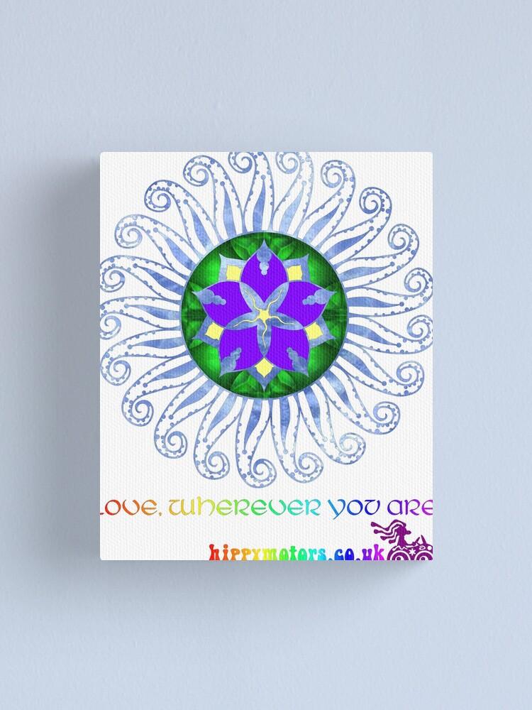 Alternate view of Mandala Canvas Print