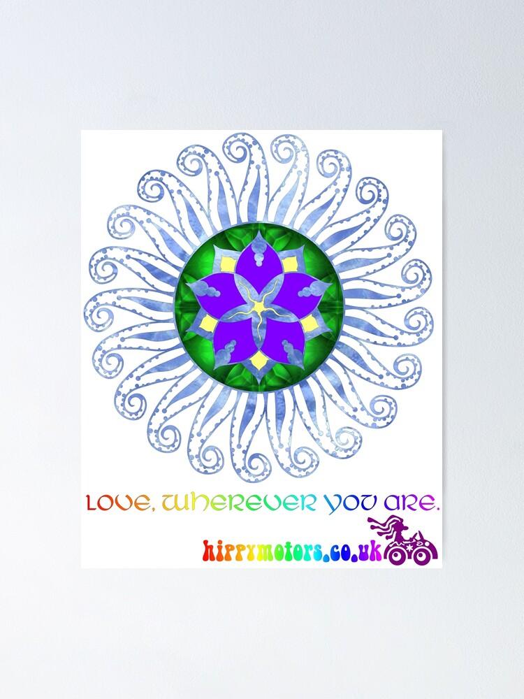 Alternate view of Mandala Poster