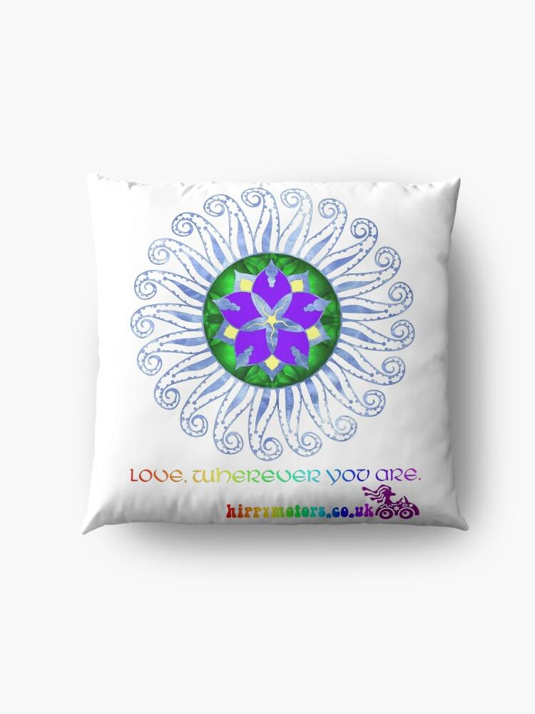 Alternate view of Mandala Floor Pillow