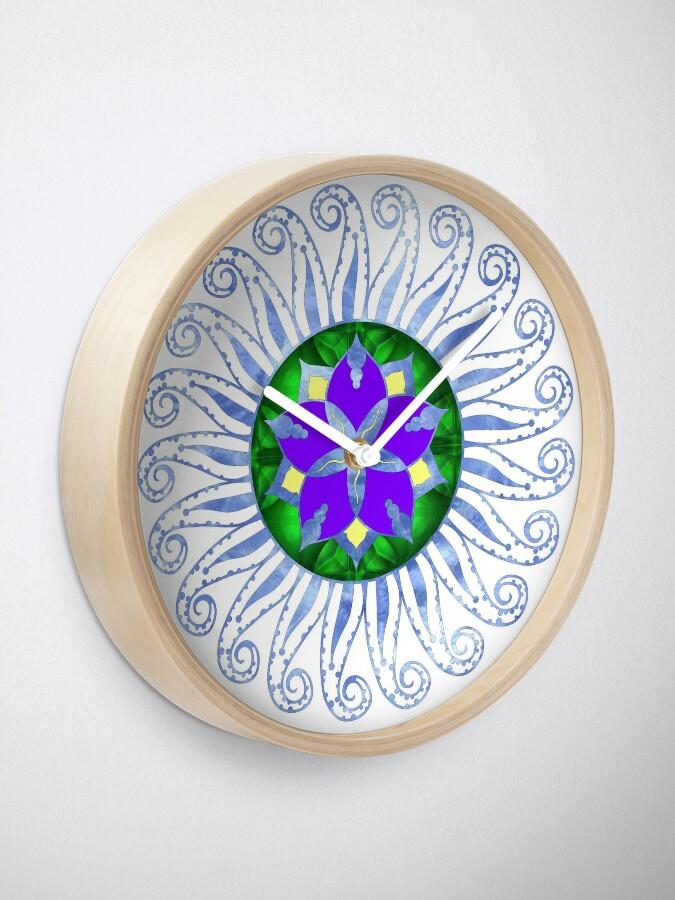 Alternate view of Mandala Clock