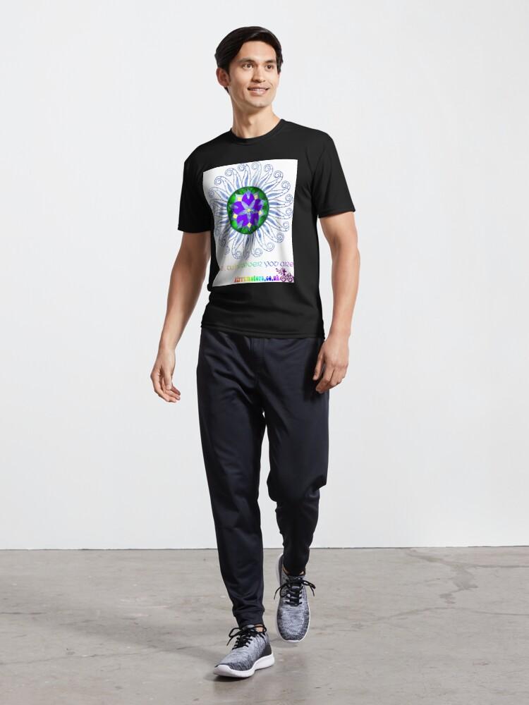 Alternate view of Mandala Active T-Shirt
