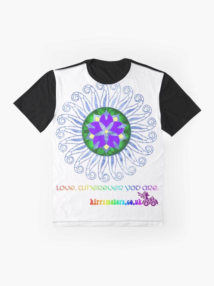 Alternate view of Mandala Graphic T-Shirt