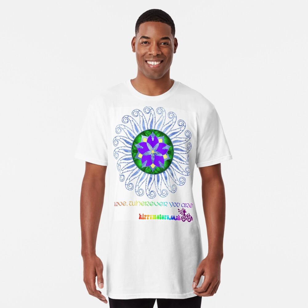 Mandala Long T-Shirt