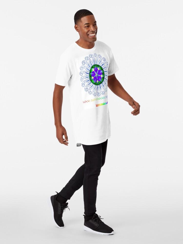 Alternate view of Mandala Long T-Shirt