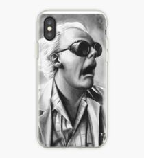 doc brown iPhone Case