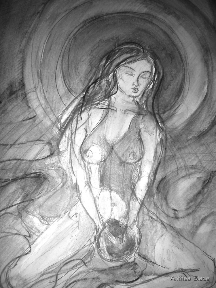 Goddess of the Moon by Anthea  Slade