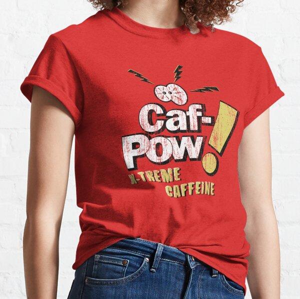 Caf-Pow - Variante extrema angustiada dos Camiseta clásica