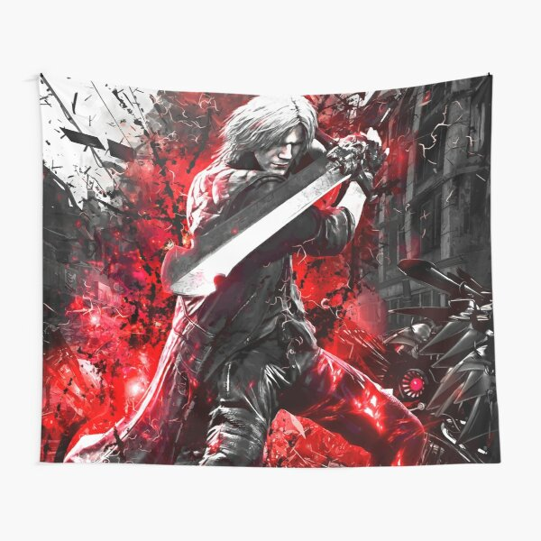 Devil May Cry 5 Dante Tapestry