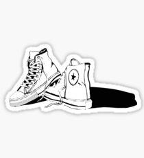 Vintage Converse Allstars Sticker