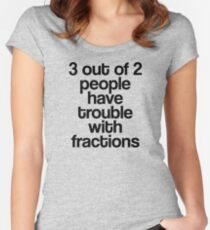 Fractions Women's Fitted Scoop T-Shirt