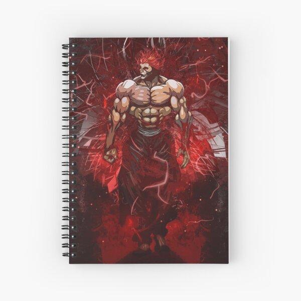 Baki The king Yujiro Hanma Spiral Notebook