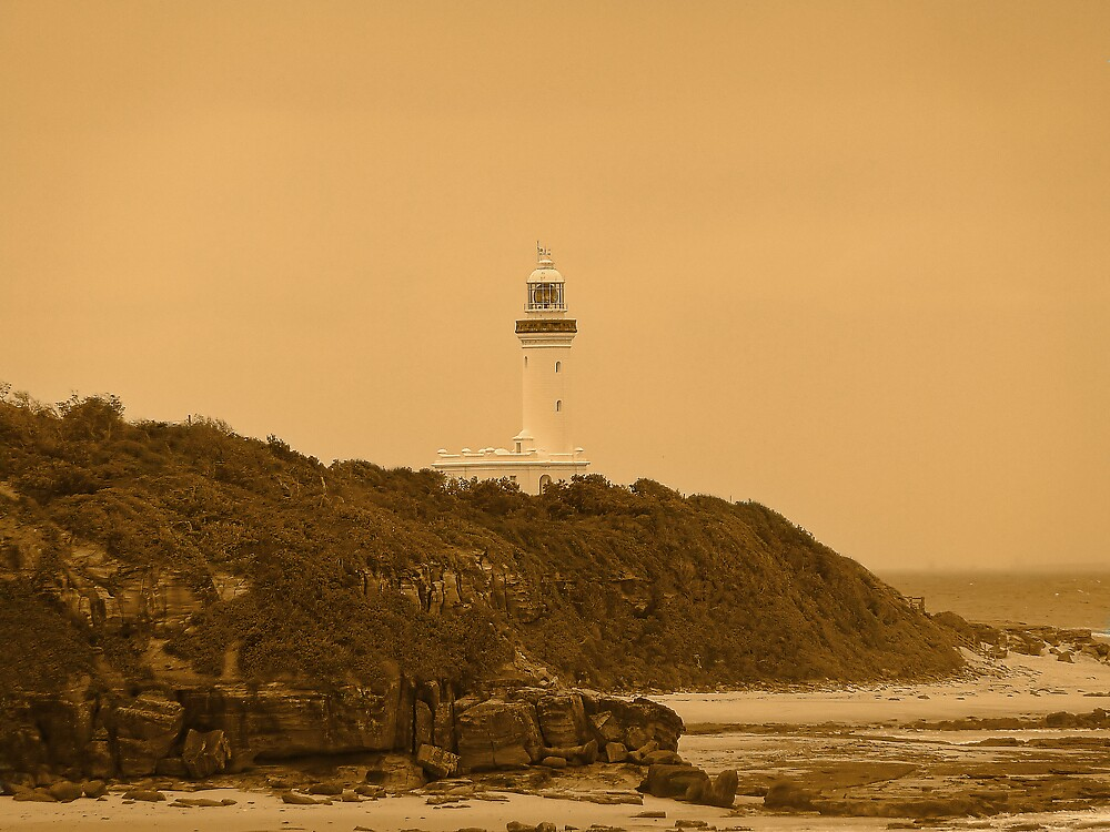 Norah Head Lighthouse by Sharon Brown