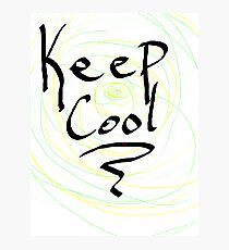 keep cool Photographic Print