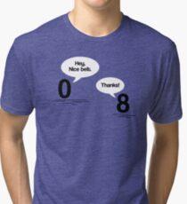 Maths - Hey, Nice Belt Tri-blend T-Shirt