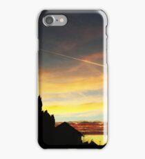 Sunset over Suburbia iPhone Case/Skin