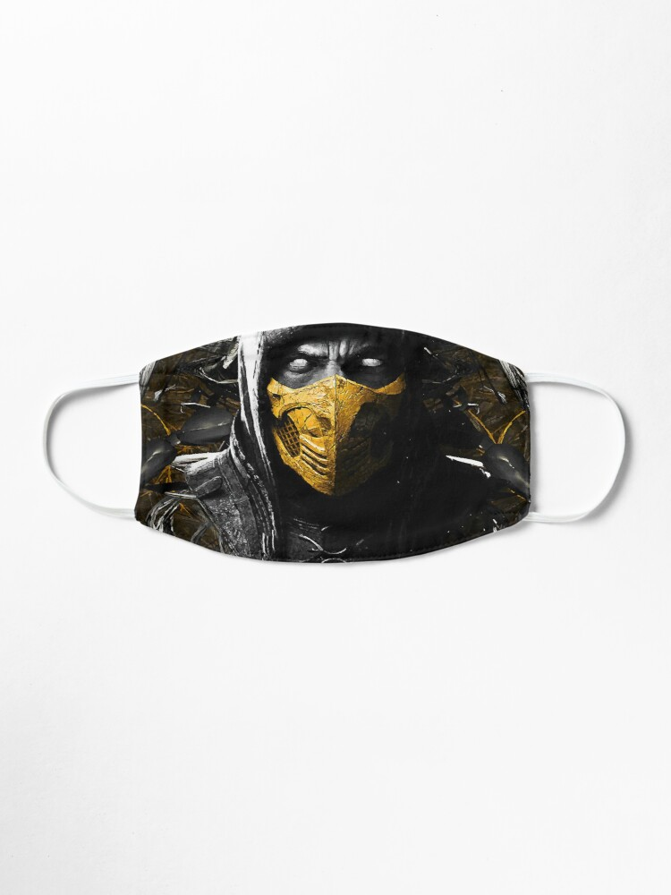 Mortal Kombat X Scorpion Mask By Syanart Redbubble