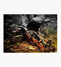 Ghost Wreck Photographic Print