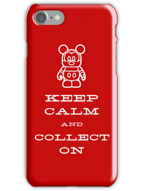 Keep Calm and Vinyl On Red Phone by stitzerb