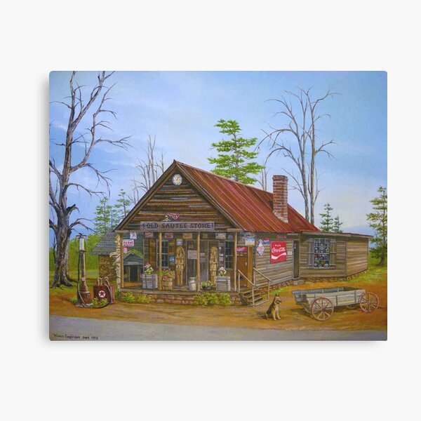 Old Sautee Store, Georgia Canvas Print