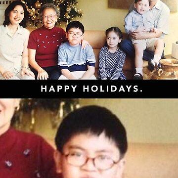 Grumpy Christmas Kid by zeddhead