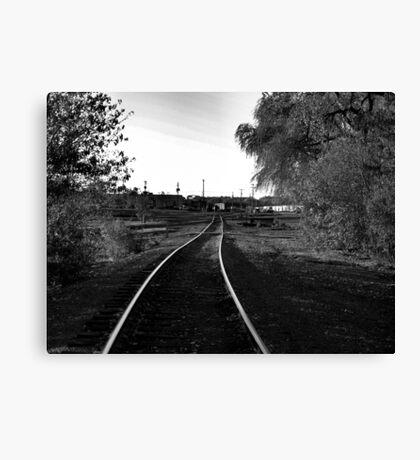 Sioux Falls Switch Yard Canvas Print
