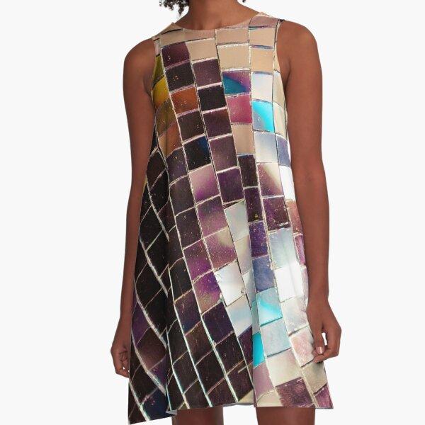 Disco Ball A-Line Dress