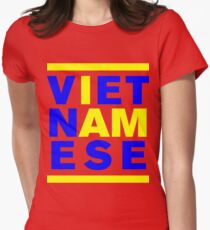 I AM VIETNAMESE Womens Fitted T-Shirt