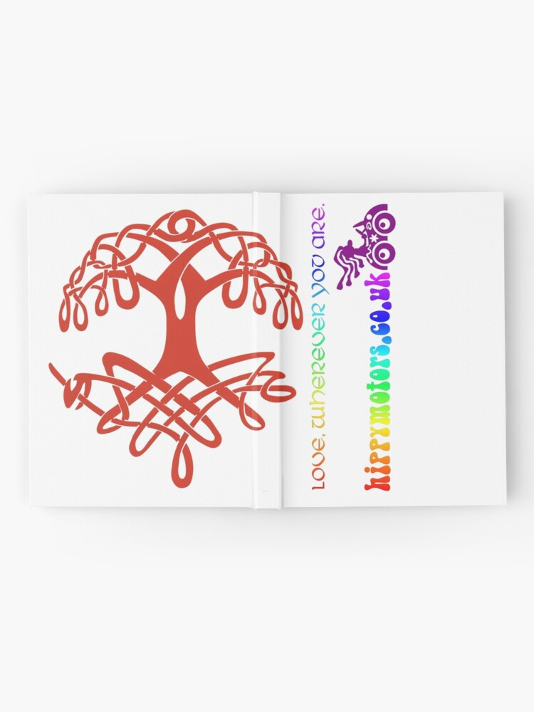 Alternate view of Celtic Tree of Life Hardcover Journal