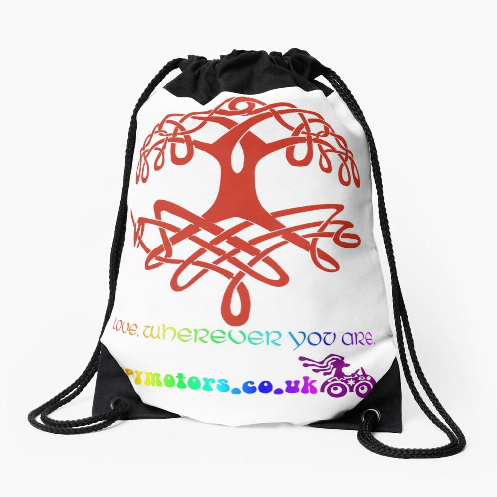 Celtic Tree of Life Drawstring Bag