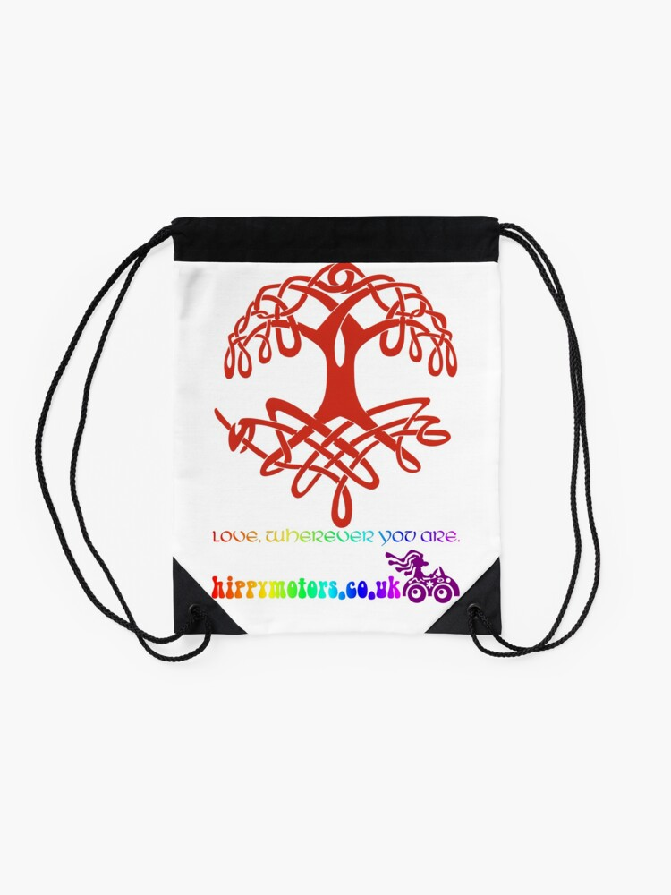 Alternate view of Celtic Tree of Life Drawstring Bag