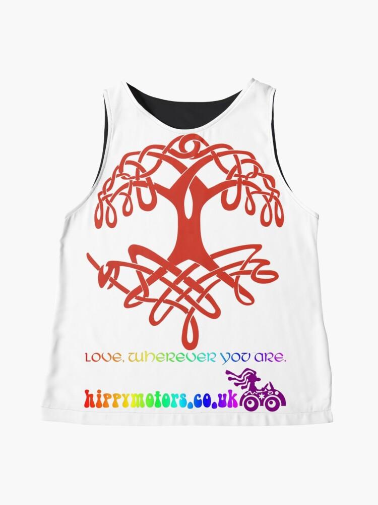 Alternate view of Celtic Tree of Life Sleeveless Top