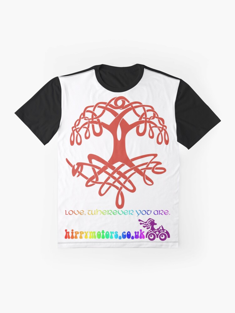 Alternate view of Celtic Tree of Life Graphic T-Shirt
