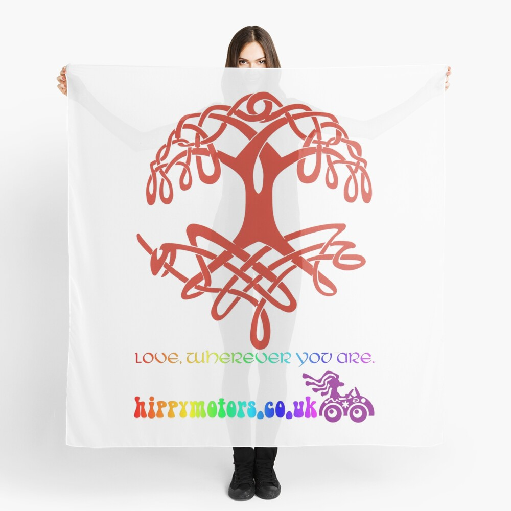 Celtic Tree of Life Scarf