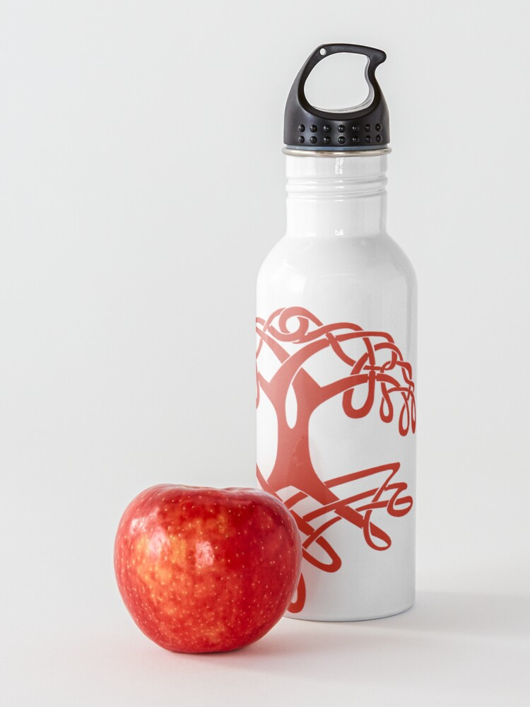 Alternate view of Celtic Tree of Life Water Bottle