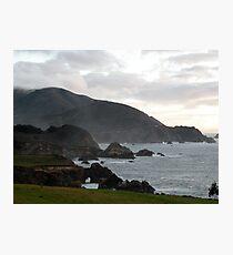 California Coastline Photographic Print