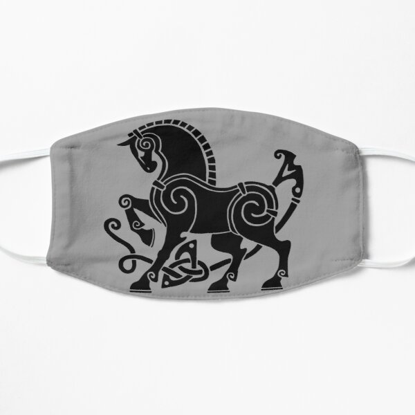 Norse Horse (Dark) Flat Mask
