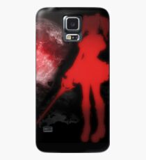 Red Moon Case/Skin for Samsung Galaxy