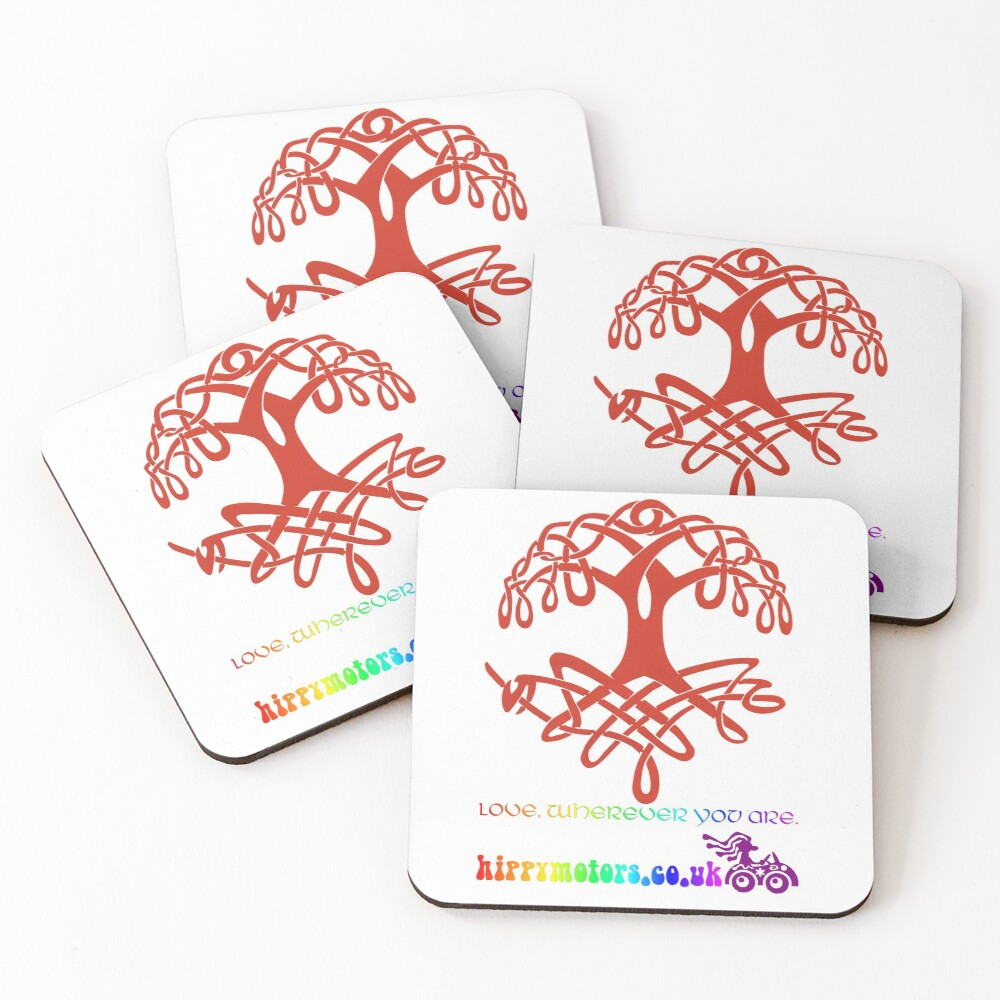 Celtic Tree of Life Coasters (Set of 4)