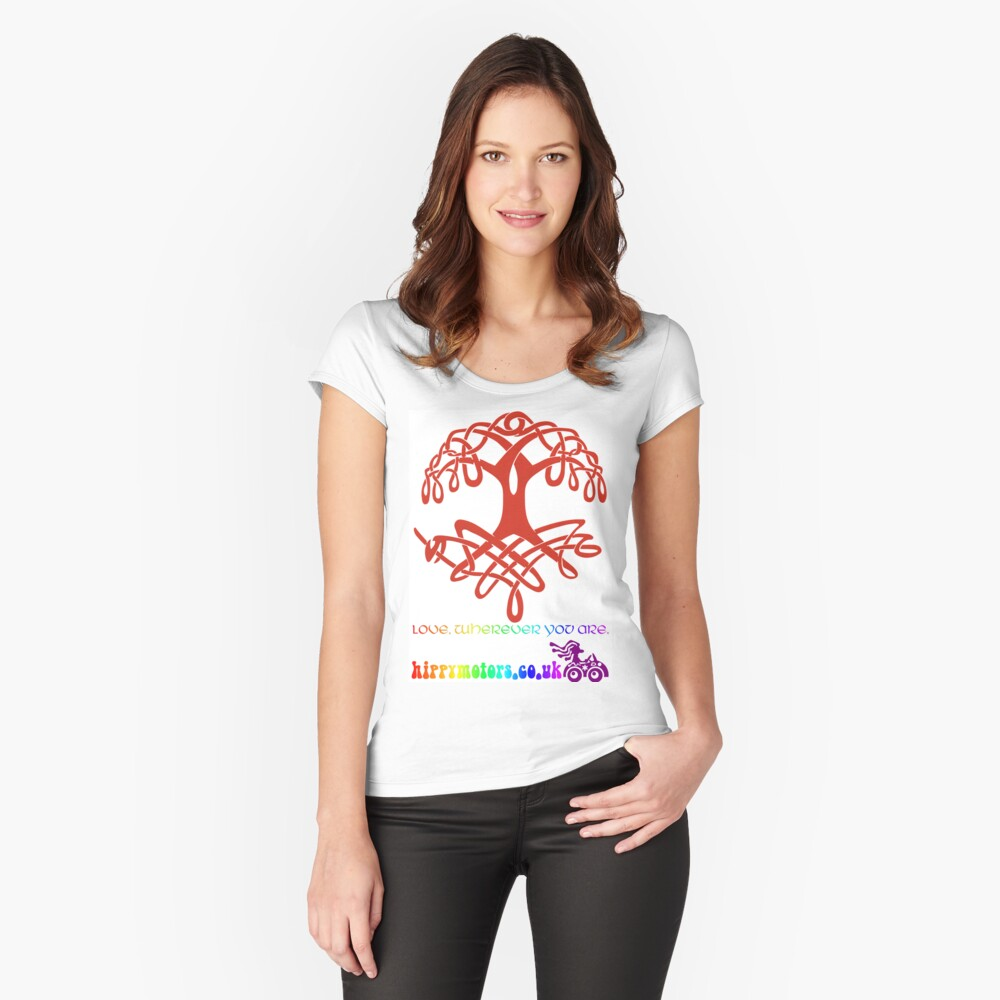 Celtic Tree of Life Fitted Scoop T-Shirt