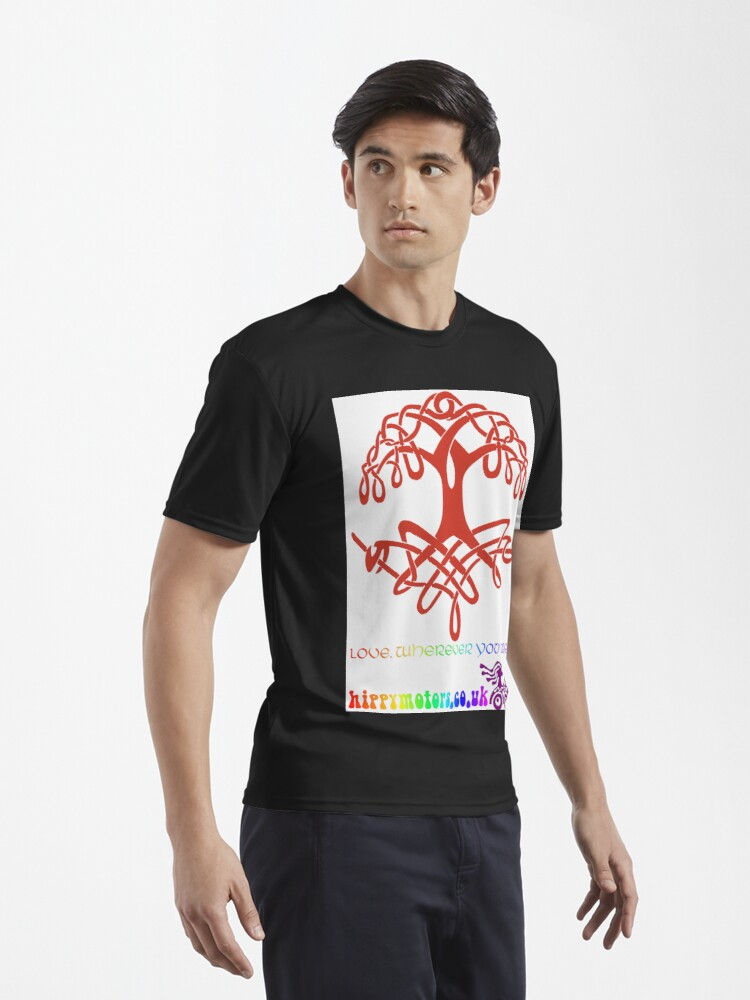 Alternate view of Celtic Tree of Life Active T-Shirt